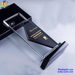 Biểu trưng pha lê Thủ Đô - BPT28
