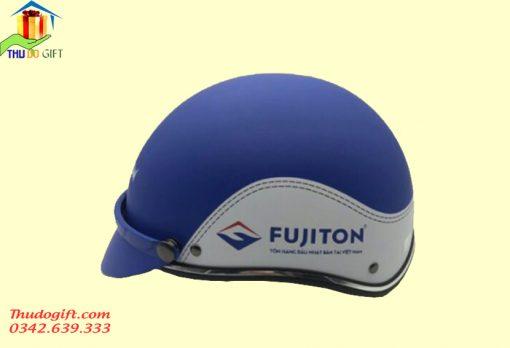 Mũ bảo hiểm in logo FUJITON