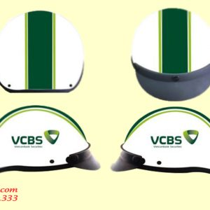 Mũ bảo hiểm In Logo VietcomBank