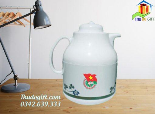 Phích pha trà Rạng Đông vỏ kẽm 1 lít