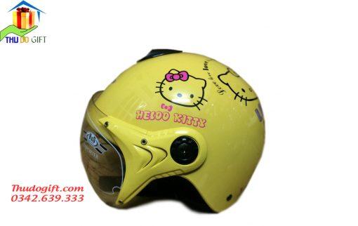 Mũ bảo hiểm trẻ em có kính - MTK03