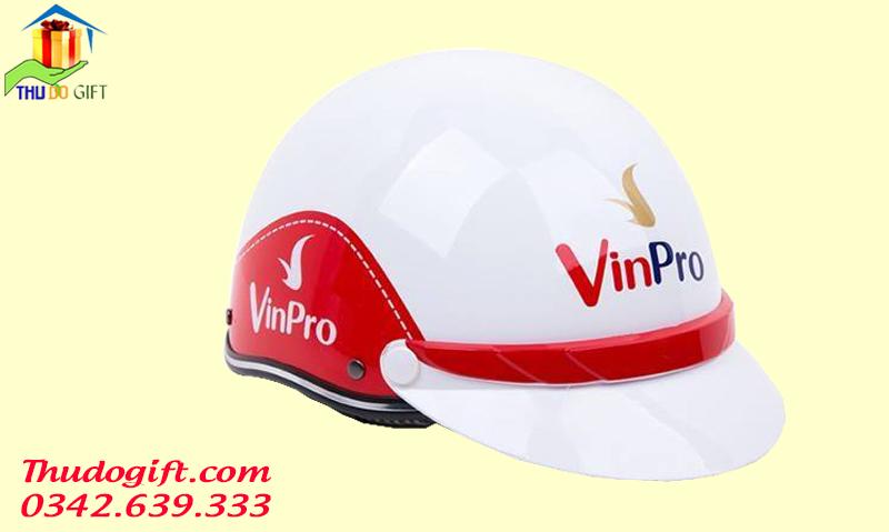 Mũ bảo hiểm in logo VinPro