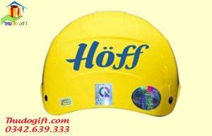 Mũ bảo hiểm khuyến mại váng sữa Hoff