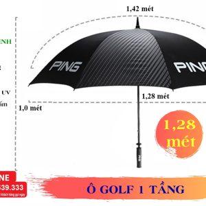 Thông tin kích thước ô golf 1 tầng
