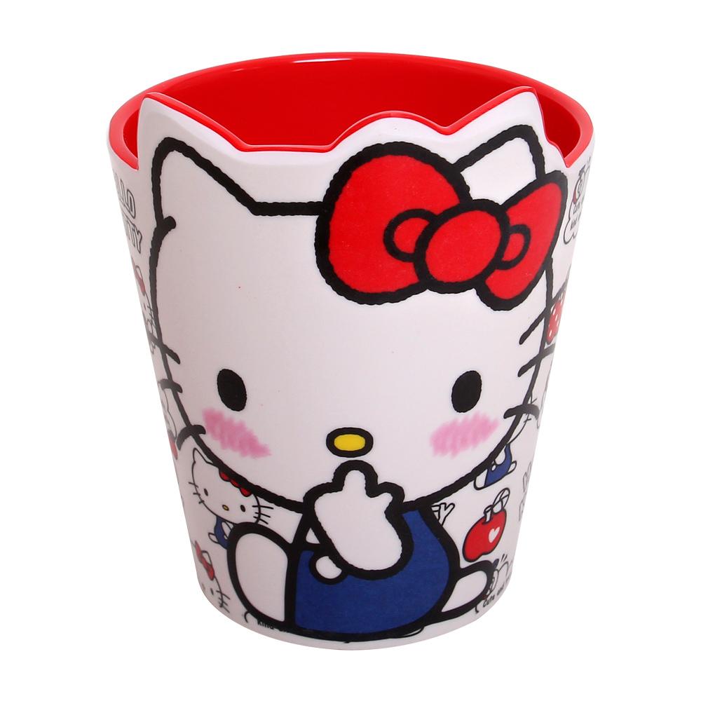 Cốc sứ uống nước in hình mèo Kitty xinh đẹp cho bé
