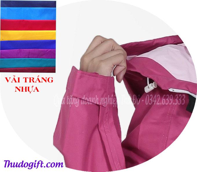 Chất liệu vải áo mưa Rạng Đông