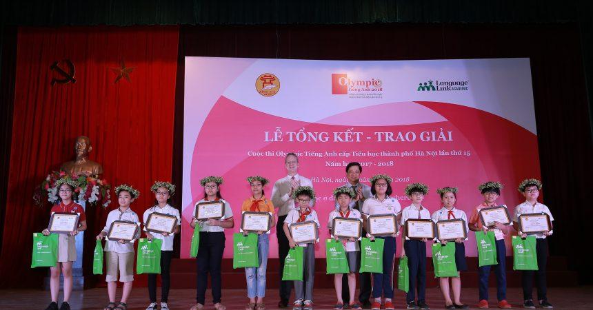 Vinh danh cuộc thi cấp tiểu học góp phần thúc đẩy học sinh cố gắng lỗ lực