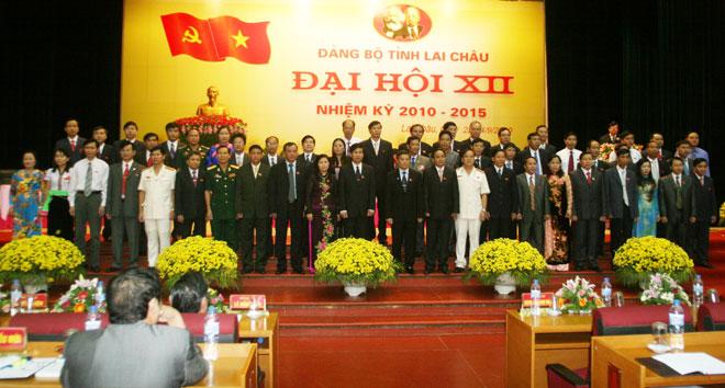Hình ảnh đại hội Đảng tỉnh Lai Châu