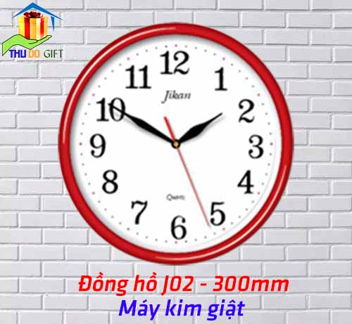 Đồng hồ treo tường Jikan J02