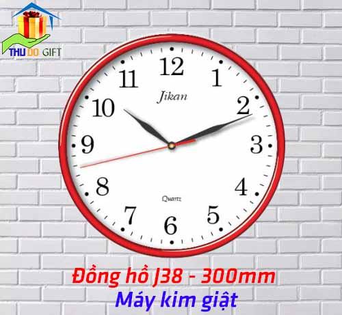 Đồng hồ treo tường Jikan J38- Kim giật