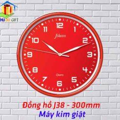 Đồng hồ treo tường Jikan J38 - Kim giật