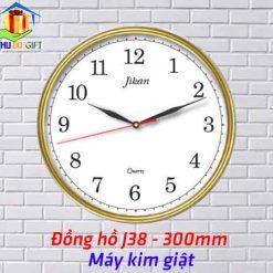Đồng hồ treo tường Jikan J38-Kim giật