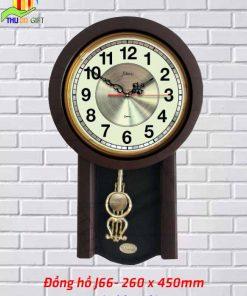Đồng hồ quả lắc treo tường Jikan J66
