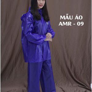 Áo mưa bộ vải nhựa PVC