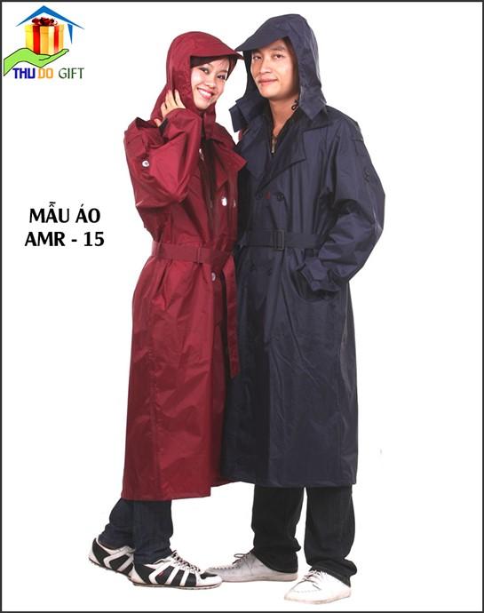 Áo mưa măng tô kiểu sĩ quan