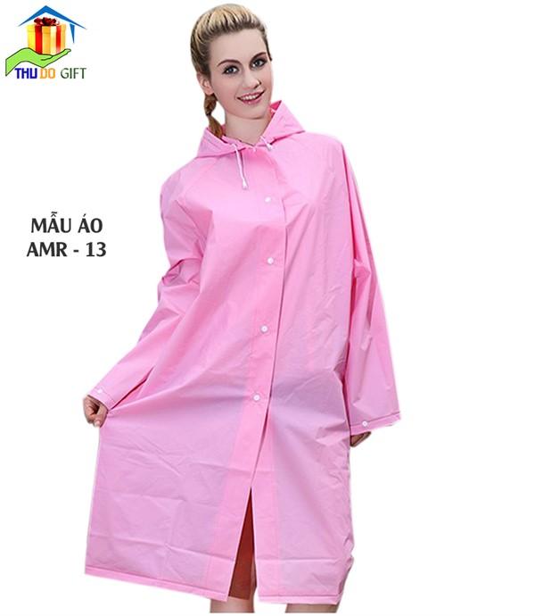 Áo mưa mang tô vải Rạng Đông