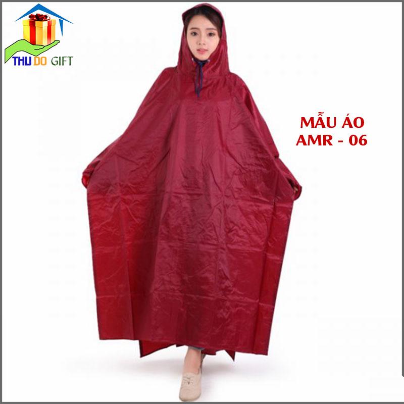 Áo mưa cánh dơi vải dù không kính đèn