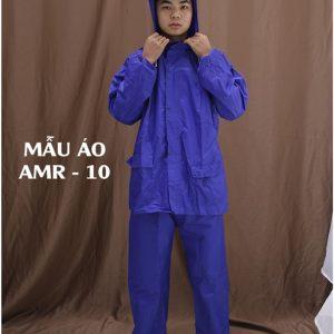 Bộ áo mưa vải nhựa cao cấp