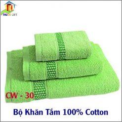 Bộ Khăn Tắm Bamboo