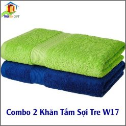Combo 2 Khăn Tắm Sợi Tre CW17