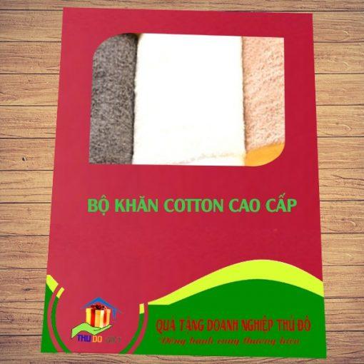 Combo Khăn Cotton Quà Tặng Cao Cấp 2