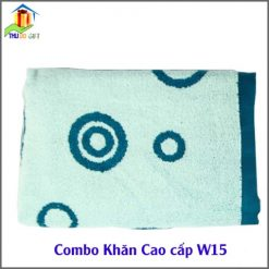 Combo Khăn Cotton Quà Tặng Cao Cấp CW15