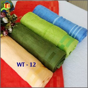 Khăn Tắm 100% Cotton Cao Cấp WT12