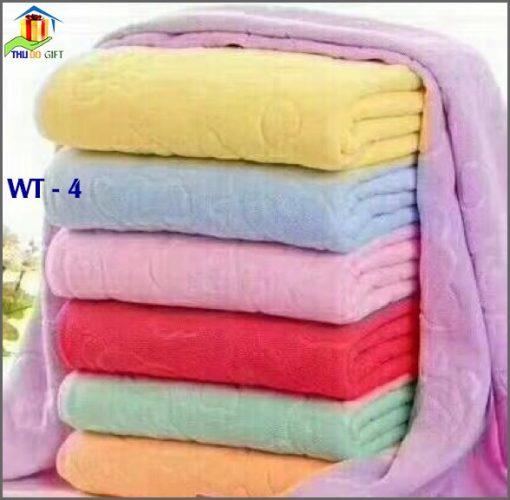Khăn Tắm 100% Sợi Cotton Cao Cấp WT4