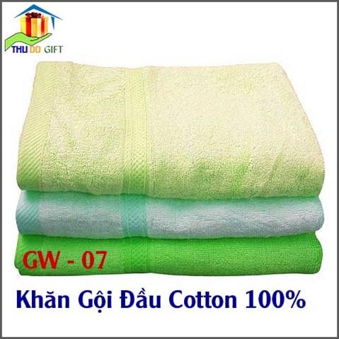 Khăn gội đầu Cotton 100%