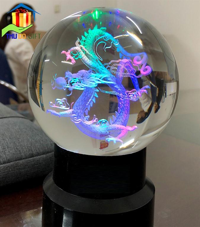 Cách đặt quả cầu phong thủy 3D
