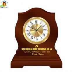 Đồng hồ bàn in logo đại hội đảng