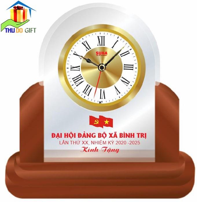 Đồng hồ để bàn đại hội Đảng xã Bình Trị