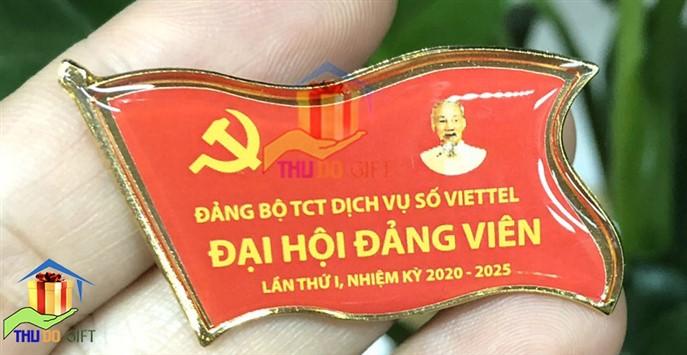 Phù hiệu đại hội đảng viên Viettel
