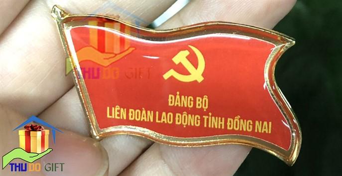 Huy hiệu đại hội đảng bộ