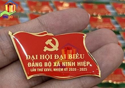 Phù hiệu đại hội đảng bộ xã