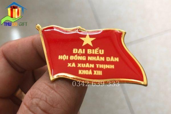 Phù hiệu đại biểu HĐND Xã Xuân Thịnh
