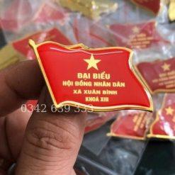 Phù hiệu đại biểu HĐND Xã Xuân Bình