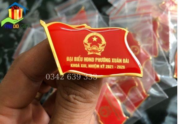 Phù hiệu đại biểu HĐND phường Xuân Đài