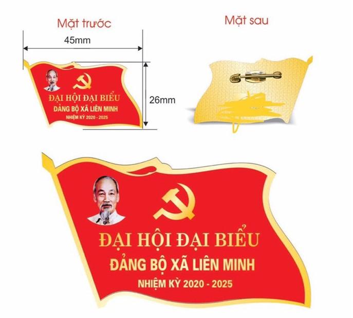 Thông tin phù hiệu Đại hội đảng