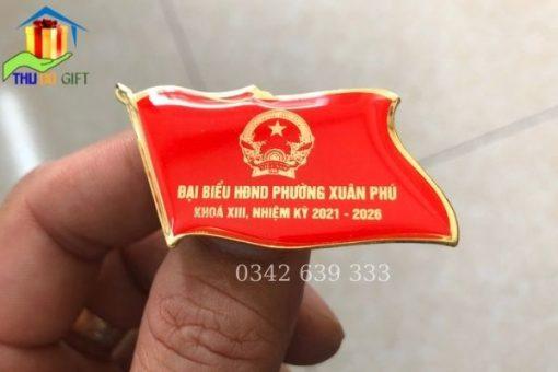 Phù hiệu đại biểu HĐND Phường Xuân Phú đẹp