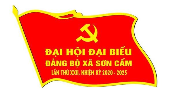 Thiết kế mẫu huy hiệu lá cờ- Phù hiệu đại hội đảng