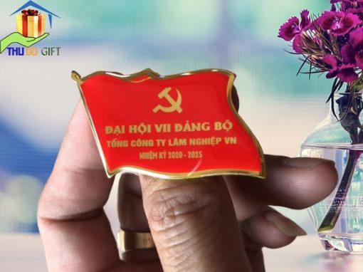 Huy hiệu đại hội Tổng công ty Lâm Nghiệp Việt Nam