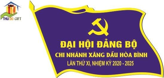 Huy hiệu khách mời công ty xăng dầu Hà Sơn Bình