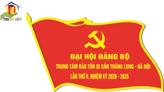 Huy hiệu đại hội trung tâm bảo tồn văn hóa Thăng Long