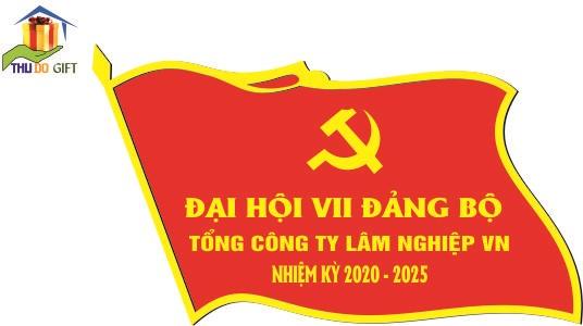 Phù hiệu đại hội Tổng công ty Lâm Nghiệp Việt Nam