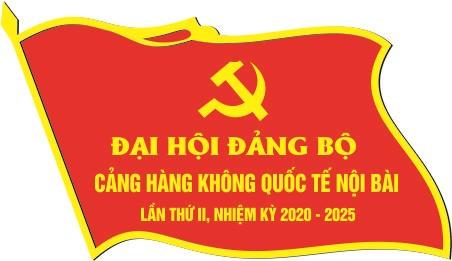 Huy hiệu lá cờ cảng hàng không quốc tế Nội Bài