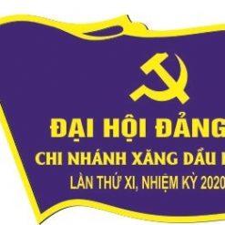 Thiết kế phù hiệu đại biểu khách mời công ty xăng dầu Hòa Bình