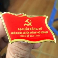 Phù hiệu đại hội Đảng Thành Phố Uông Bí
