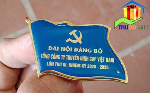 Phù hiệu lá cờ tổng công ty truyền hình Cáp Việt Nam