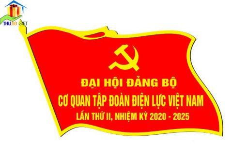 Thiết kế huy hiệu lá cờ cơ quan Tập Đoàn Điện Lực Việt Nam